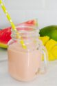 Healthy mango watermelon smoothie for weight loss